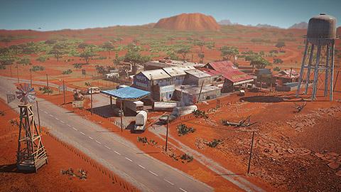荒漠服务站