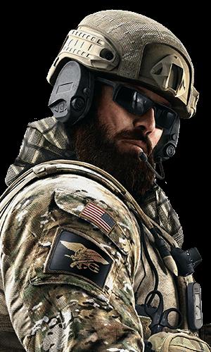Blackbeard Portrait - Rainbow Six Siege
