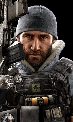 Buck Portrait - Rainbow Six Siege