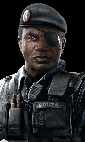 Capitão Portrait - Rainbow Six Siege