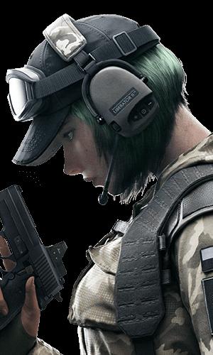 Ela Portrait - Rainbow Six Siege
