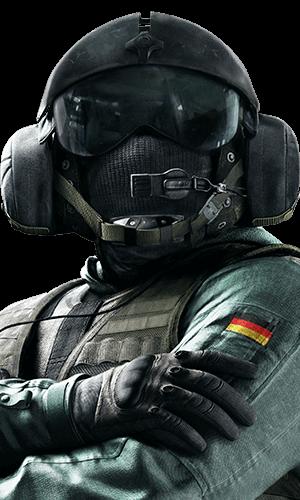 Jager Portrait - Rainbow Six Siege