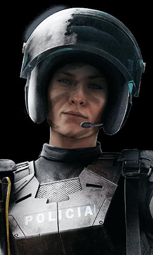 Mira Portrait - Rainbow Six Siege