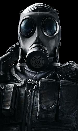 Smoke Portrait - Rainbow Six Siege