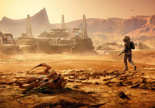 """7月17日向异星进发! 《孤岛惊魂5》DLC""""火星迷航记""""发售日期公布"""