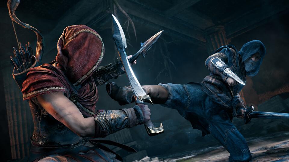 《刺客信条:奥德赛》首个故事线 《第一把袖剑之传承》初章12月4日上线