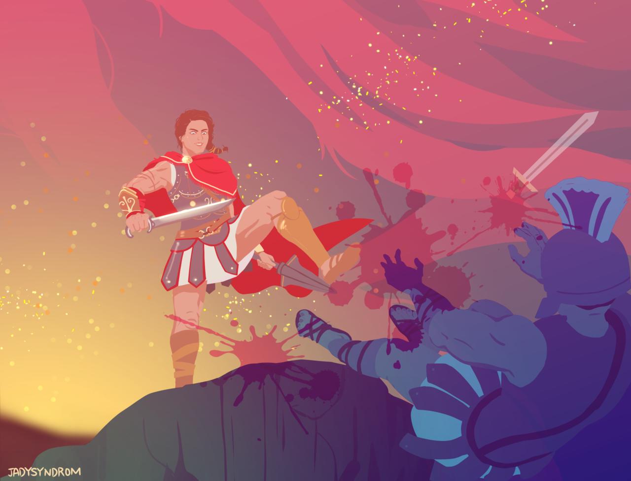《刺客信条:奥德赛》玩家社区作品分享第一弹!
